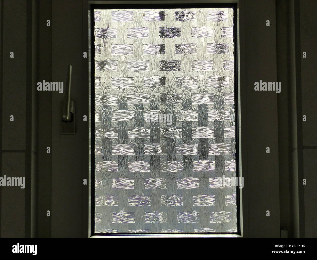 Opaque Window - Stock Image