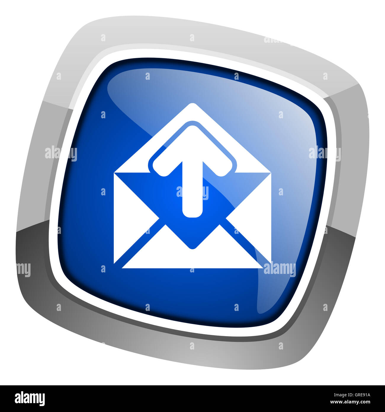 mail icon - Stock Image
