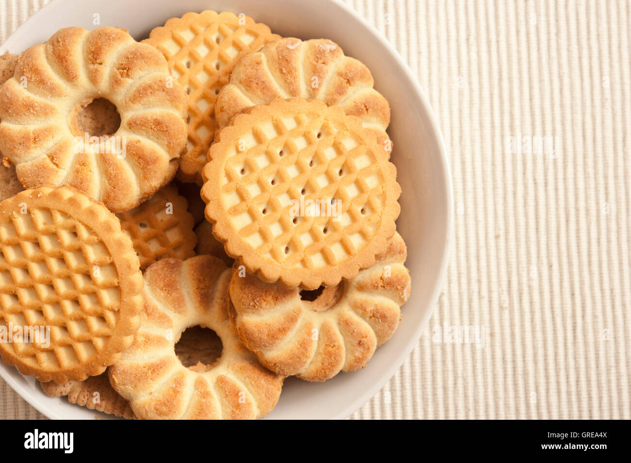 biscuits - Stock Image