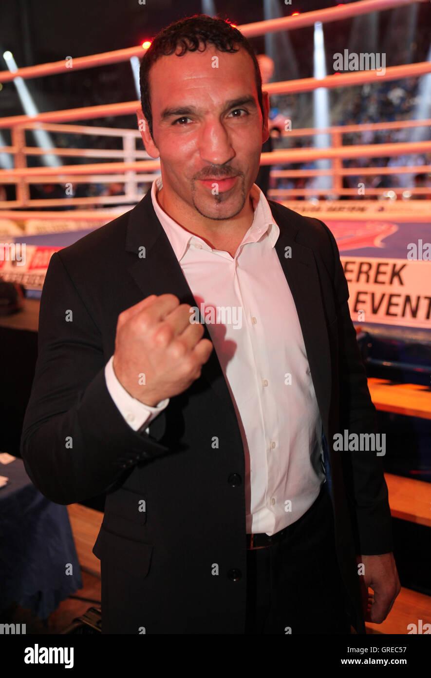 Arslan Firat The Wba World Championship Fight Chagaev Vs. Pianeta On 11 July 2015 In Magdeburg Stock Photo
