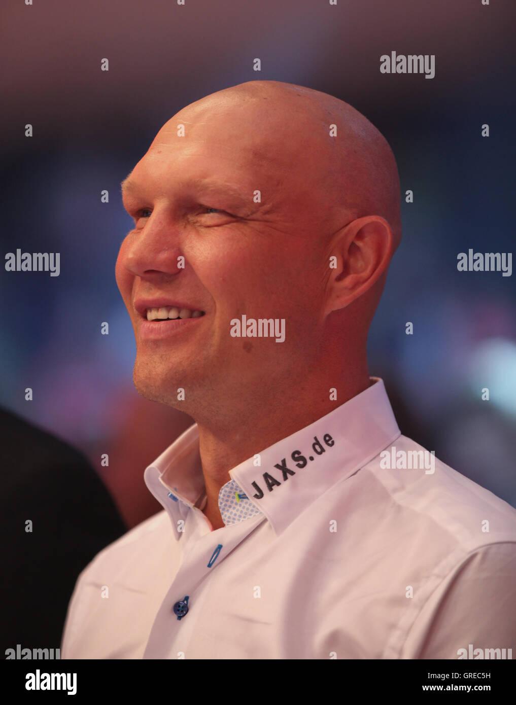 Axel Schulz The Wba World Championship Fight Chagaev Vs. Pianeta On 11 July 2015 In Magdeburg - Stock Image