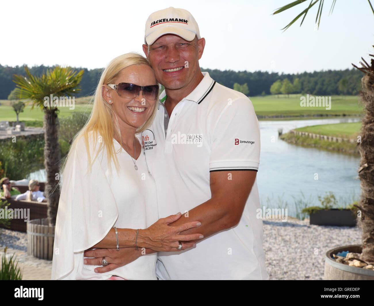 Axel Schulz With Wife Patrizia - Stock Image
