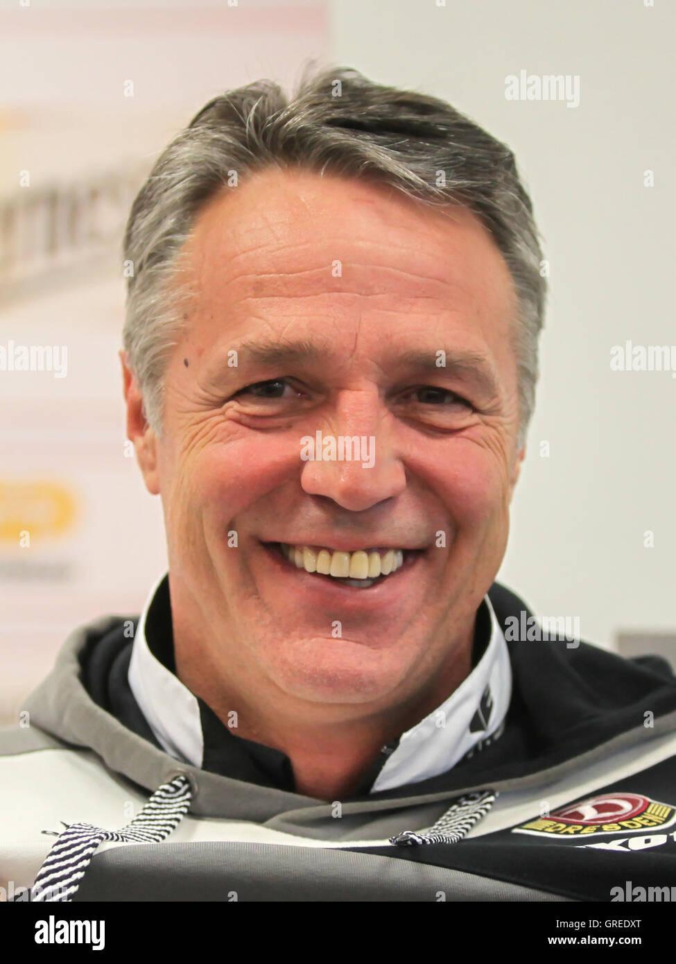 Coach Uwe Neuhaus Sg Dynamo Dresden - Stock Image