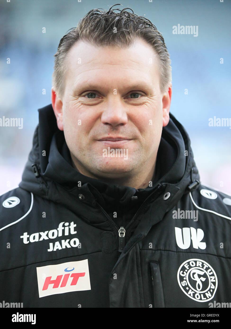 Coach Uwe Koschinat Sc Fortuna Köln - Stock Image