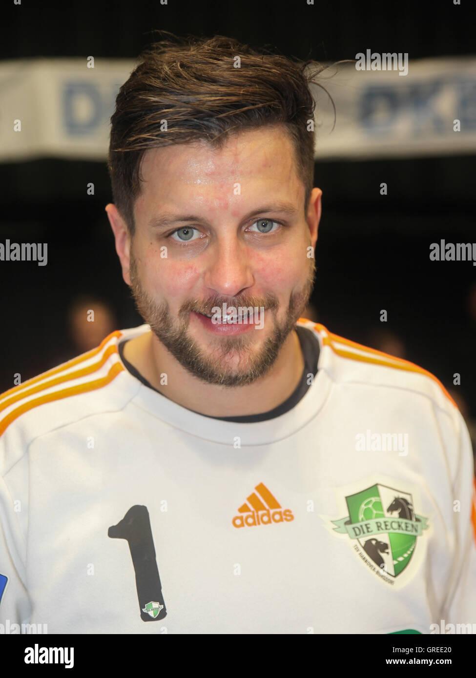 Goalkeeper Martin Ziemer Tsv Hannover Burgdorf - Stock Image