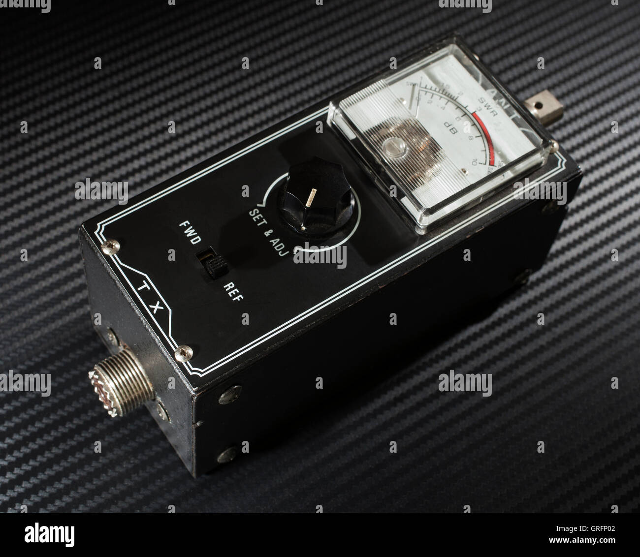 Two Way Switch Stock Photos Images Alamy Meter That Is Used To Measure Standing Wave Ratio On A Radio Antenna