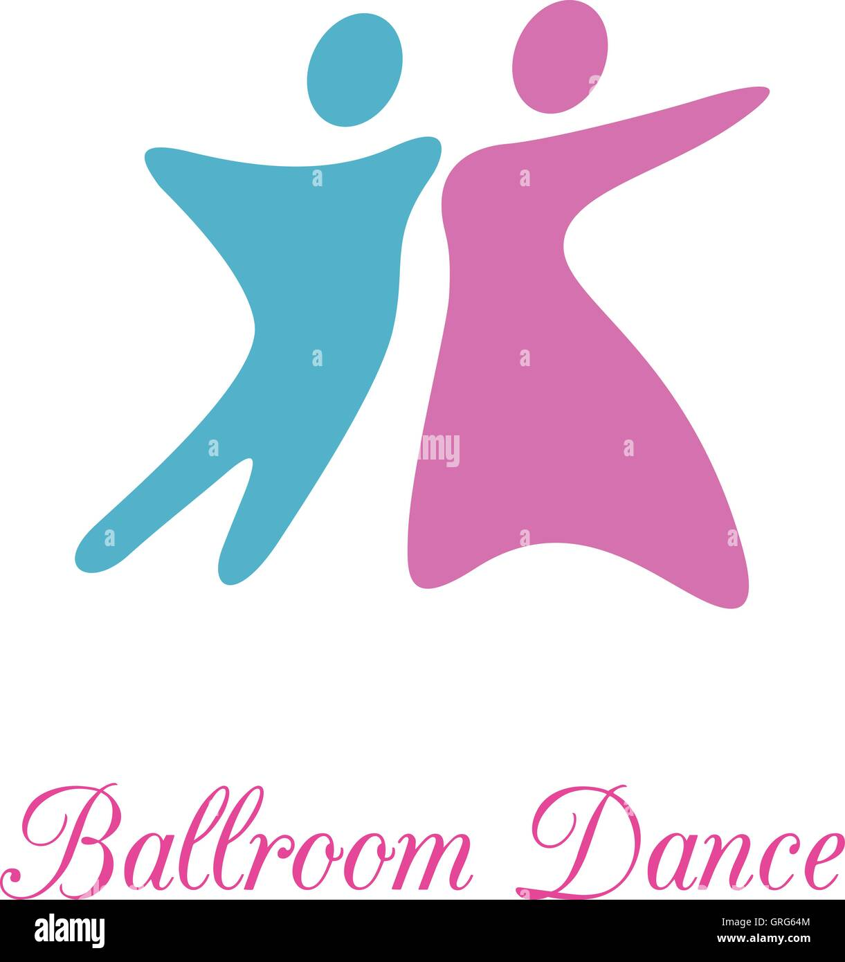 Ballroom Stock Vector Images Alamy Back Gt Gallery For Foxtrot Dance Steps Diagram Dancing Couple Class Or Lessons Concept