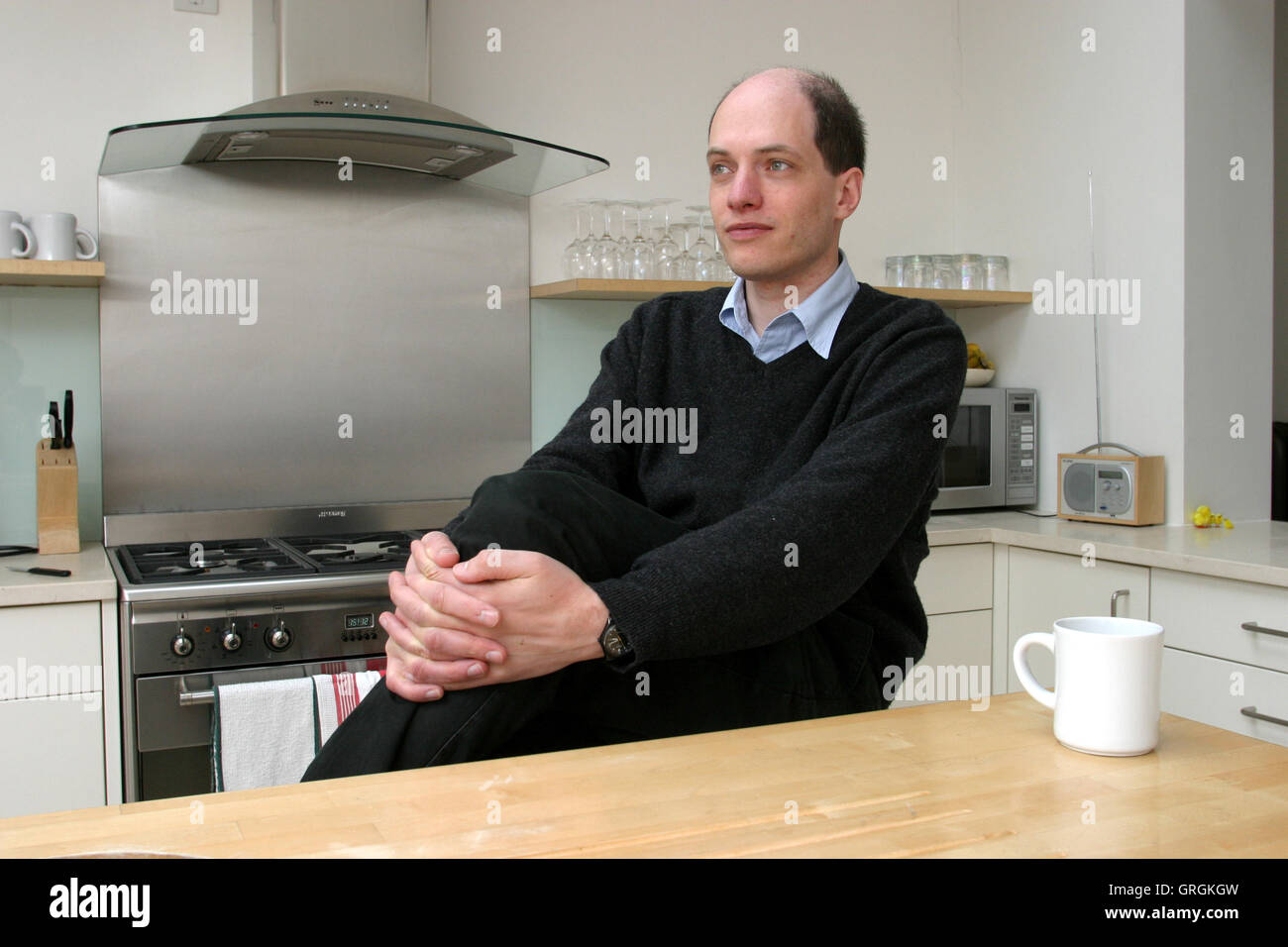 He Has Also Written A Novel Essays In Love Stock Photos  He Has  Philosopher Alain De Botton At Home In London Author Of The Architecture  Of Happiness Essays In English also Essay On Religion And Science Narrative Essay Topics For High School