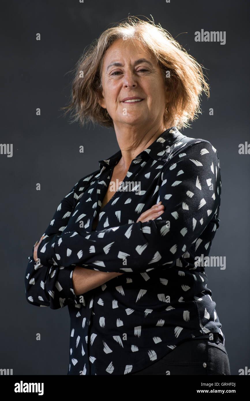 South African-born novelist, playwright and memoirist Gillian Slovo. - Stock Image