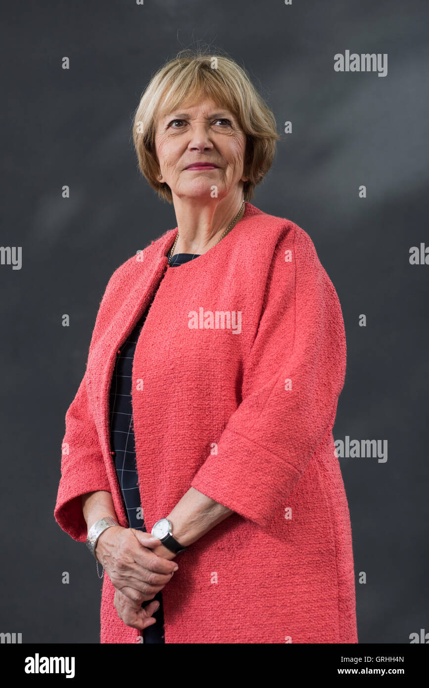 British journalist, television presenter and Labour Party Peer Joan Bakewell. - Stock Image