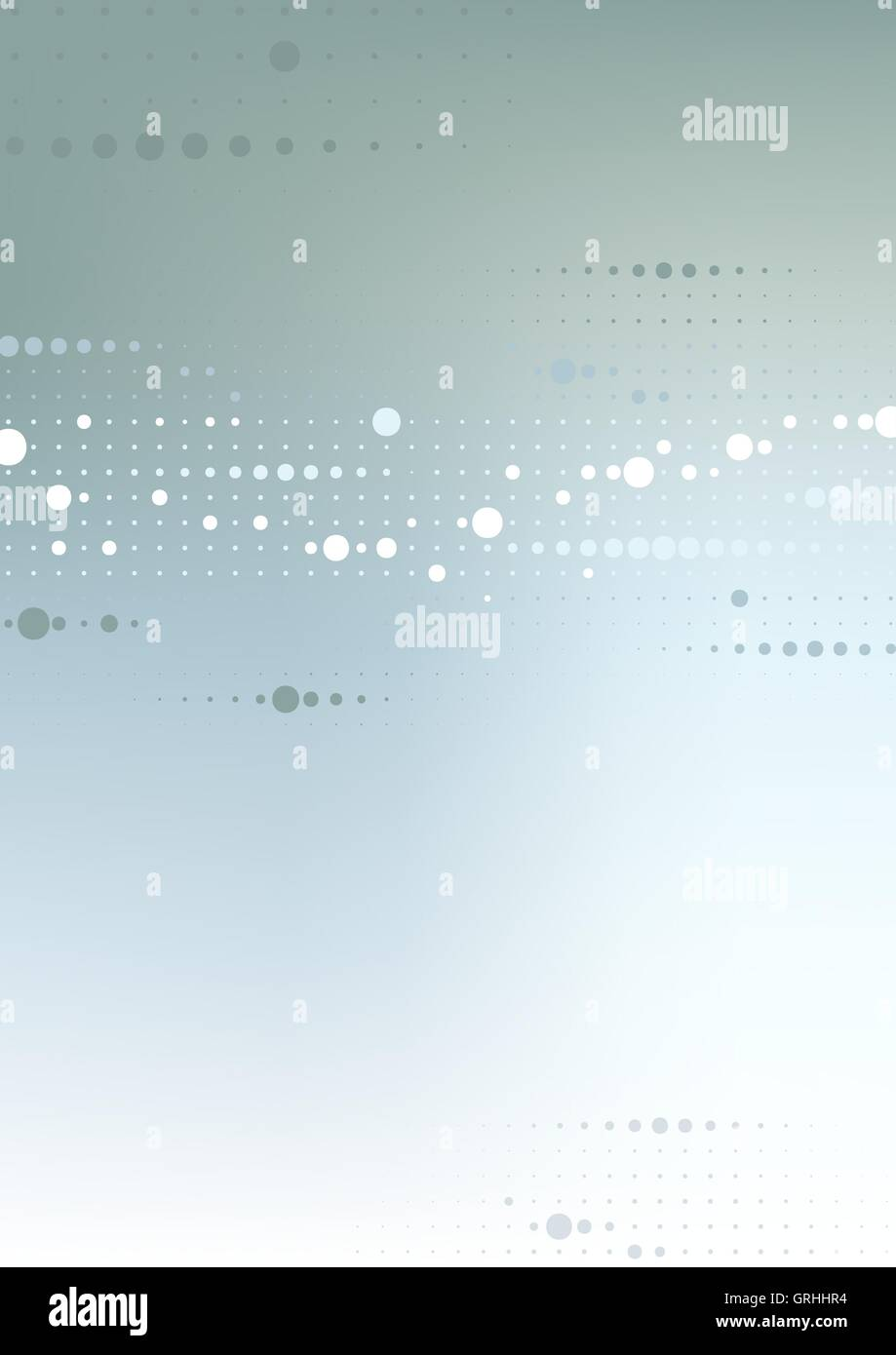 Dotted Tech Background - Stock Image