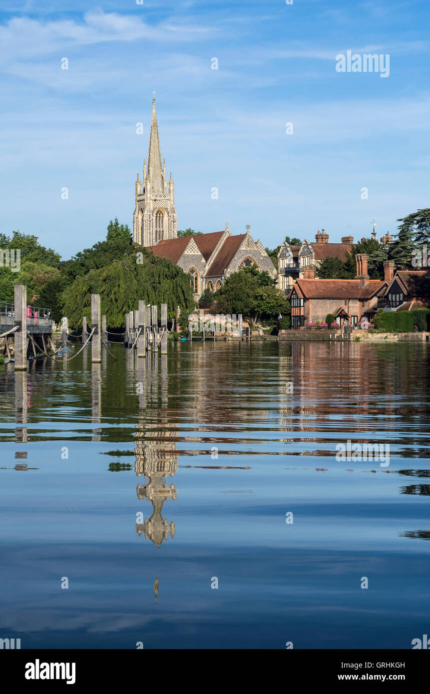 Marlow, Buckinghamshire Stock Photo