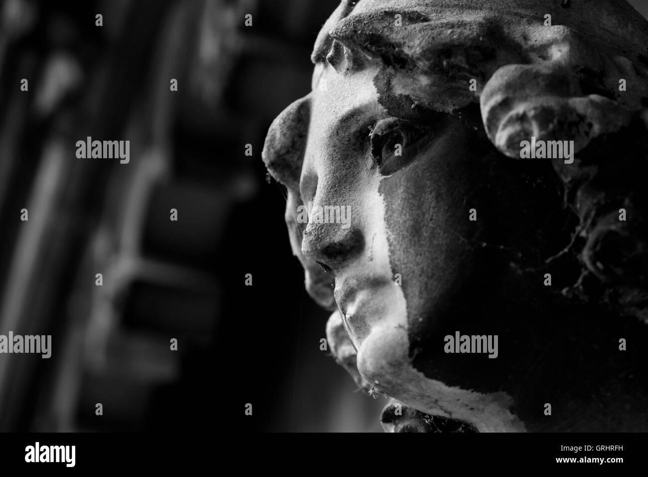 Brompton Cemetery - Stock Image
