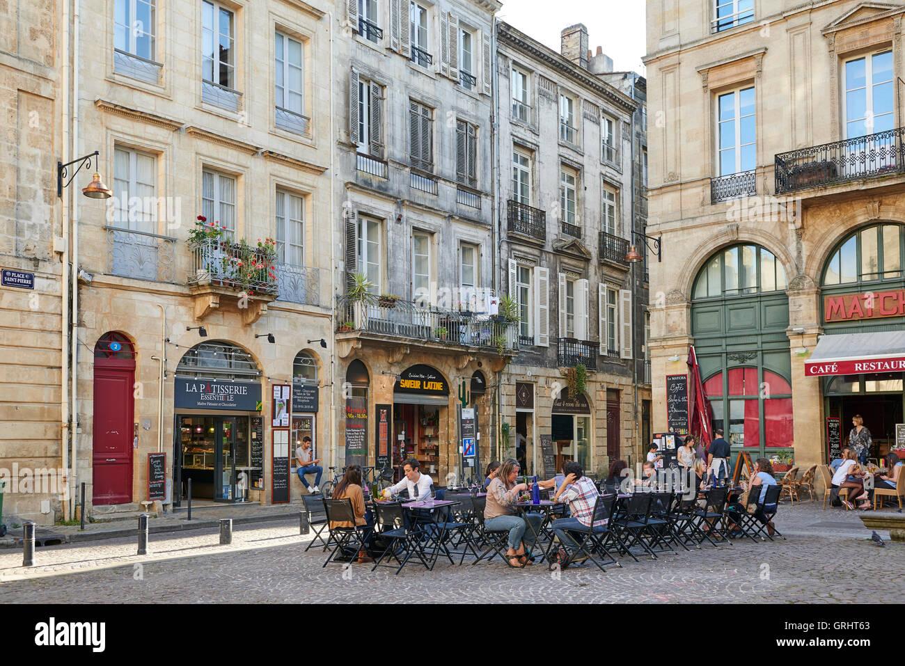 Place Saint Pierre, Bordeaux, Gironde, Aquitaine, France ...
