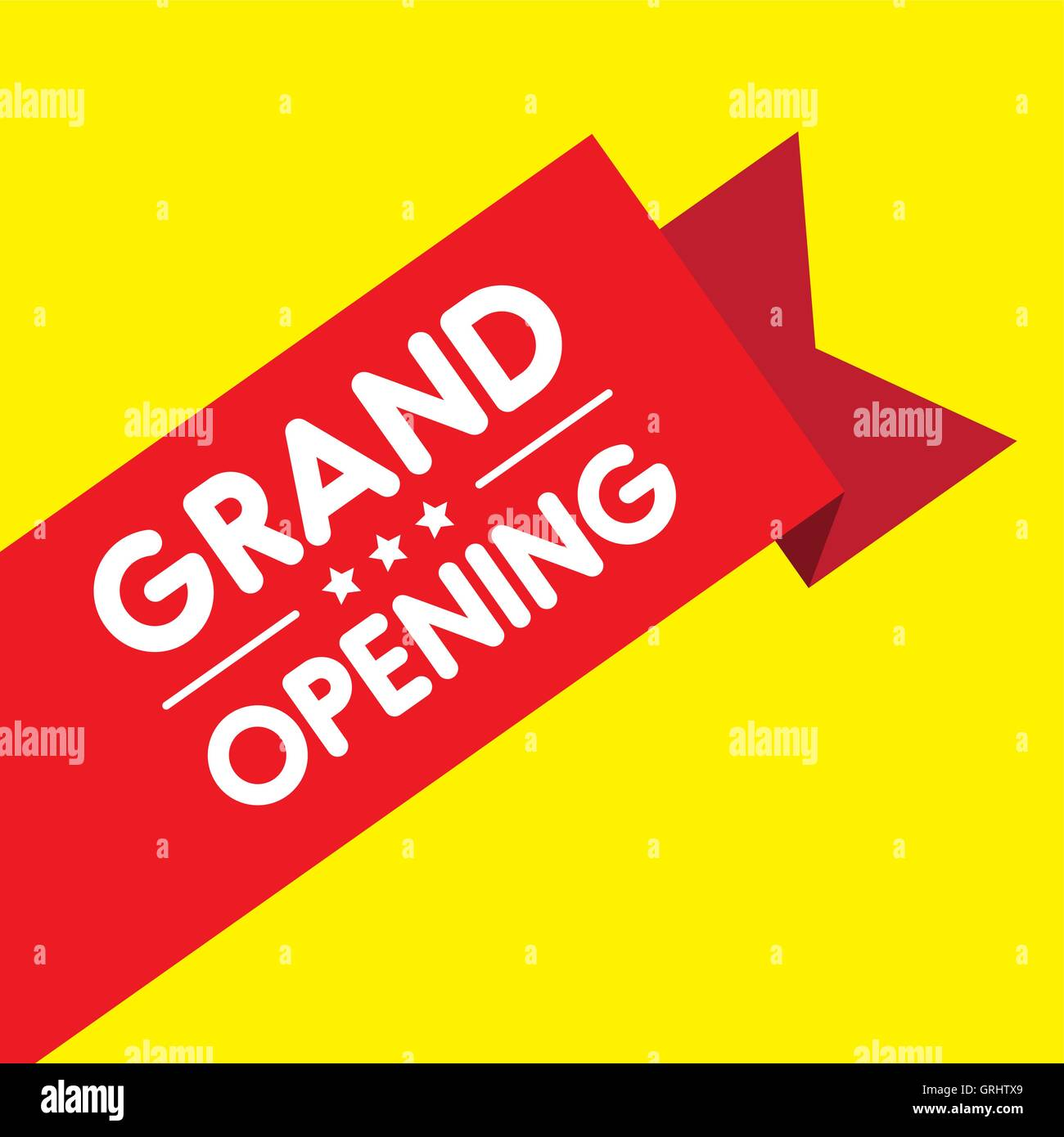 Grand opening invitation label lettering stock vector art grand opening invitation label lettering stopboris Image collections