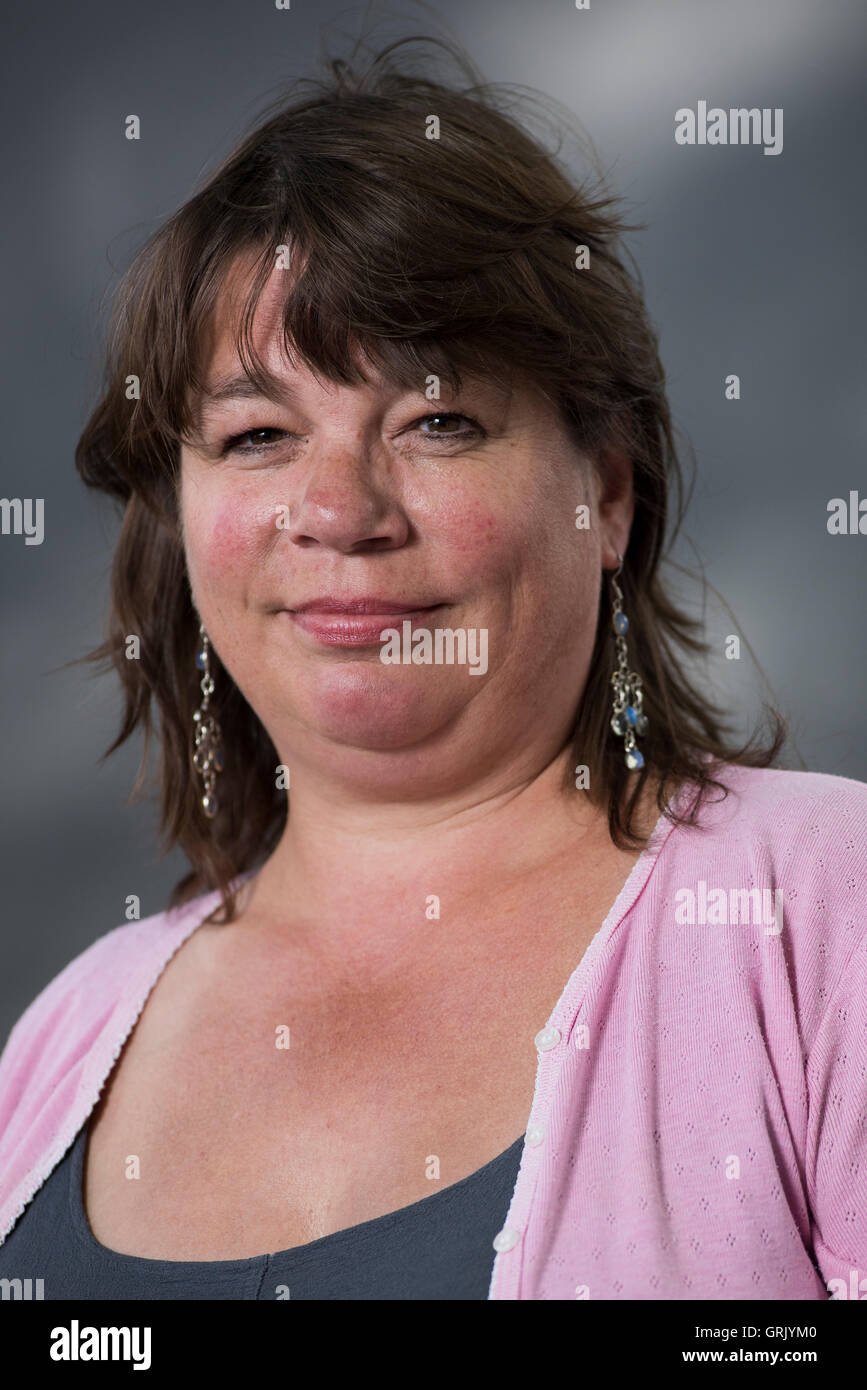 Writer, editor and arts critic Lucy Popescu. - Stock Image