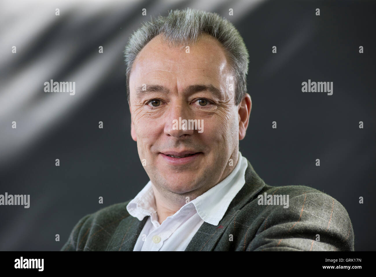 Scottish Poet Jim Carruth. - Stock Image