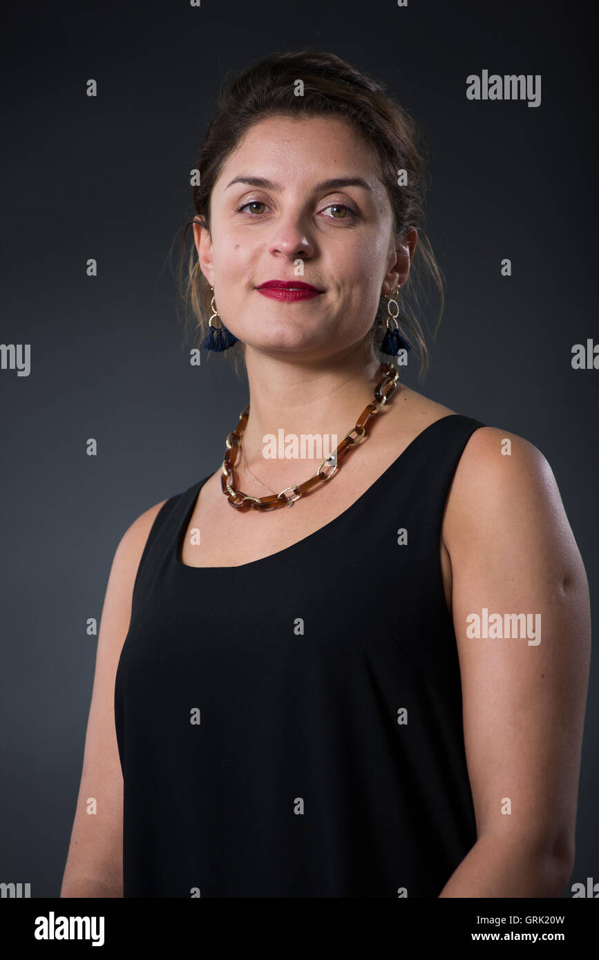 English author and actress Jessie Burton. - Stock Image