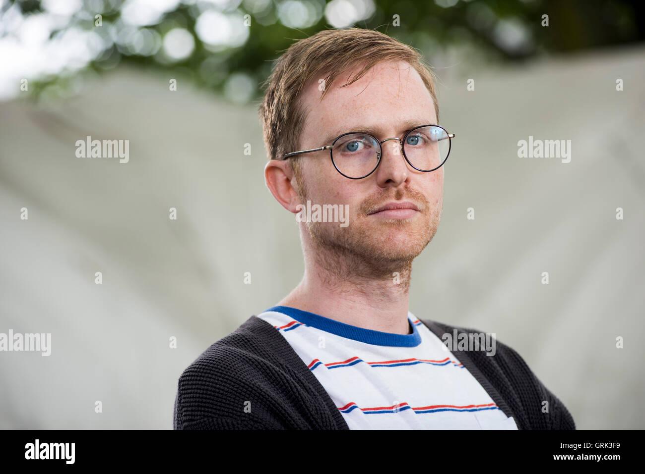 Author Adam Biles. - Stock Image