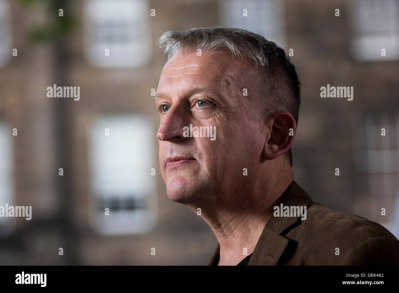 Doctor and poet Iain Bamforth. - Stock Image