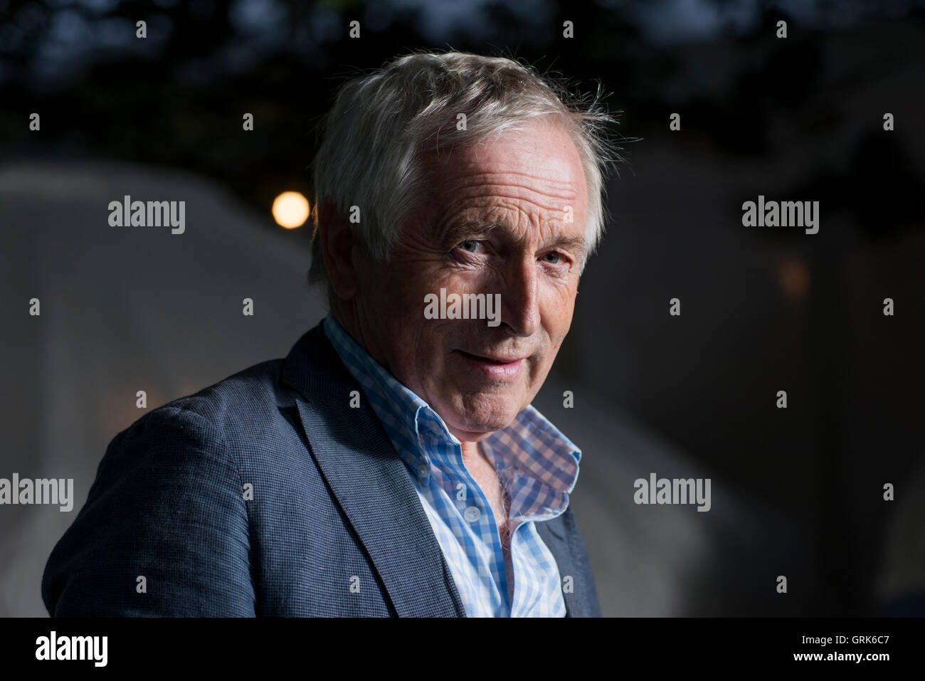 British presenter, political commentator and writer Jonathan Dimbleby. - Stock Image