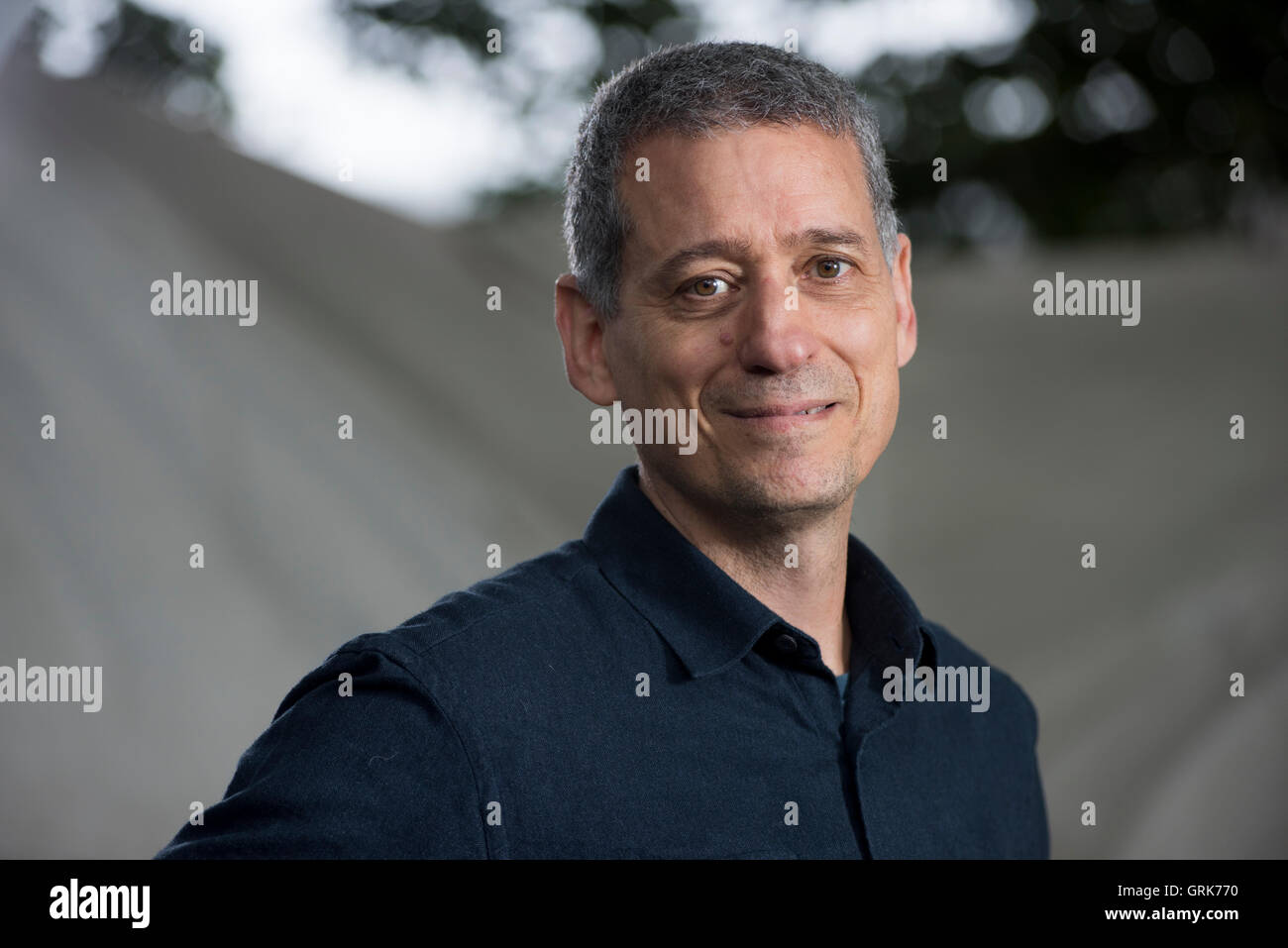 English Journalist Jeremy Gavron. - Stock Image