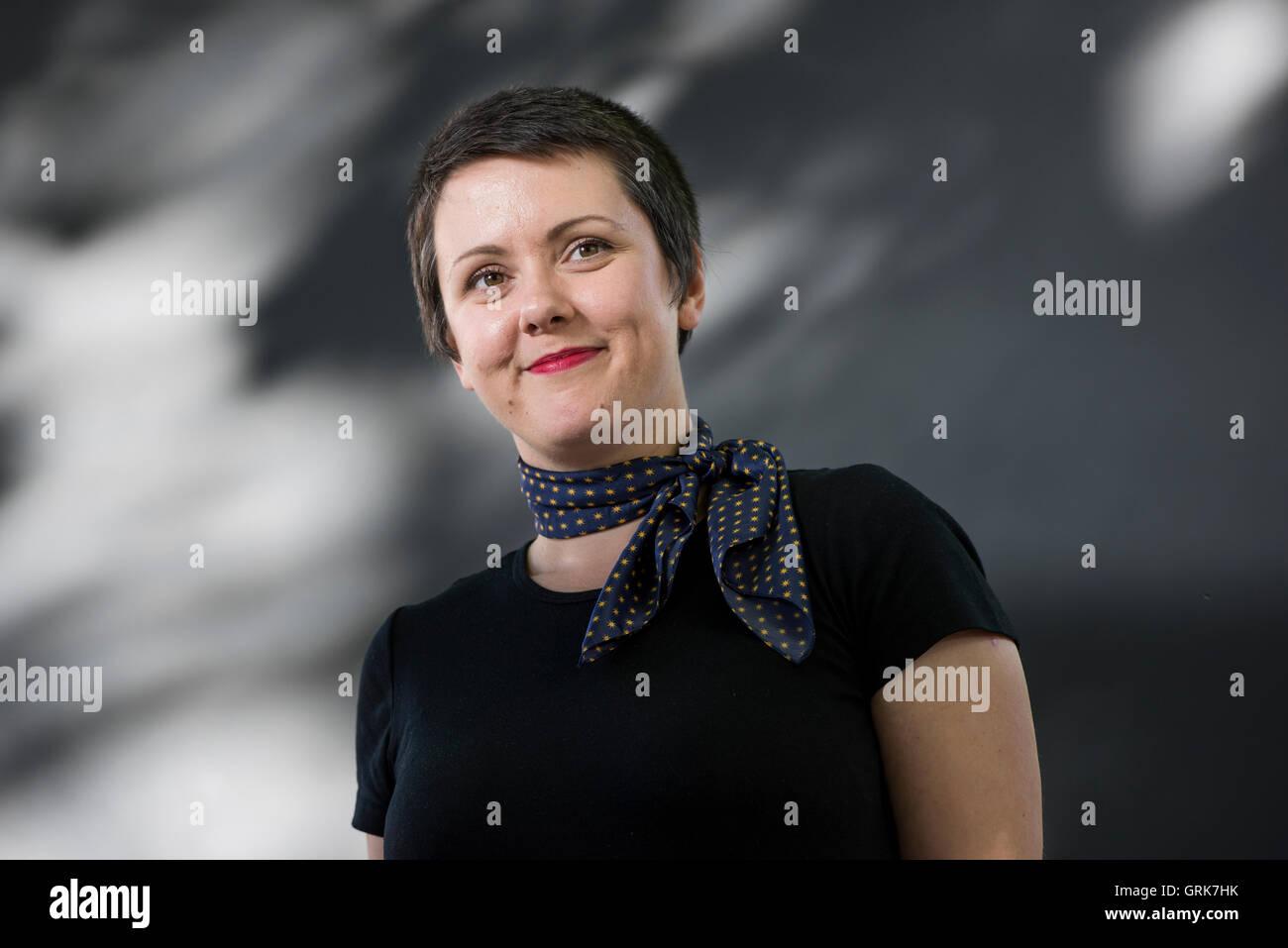 American writer Megan Bradbury. - Stock Image