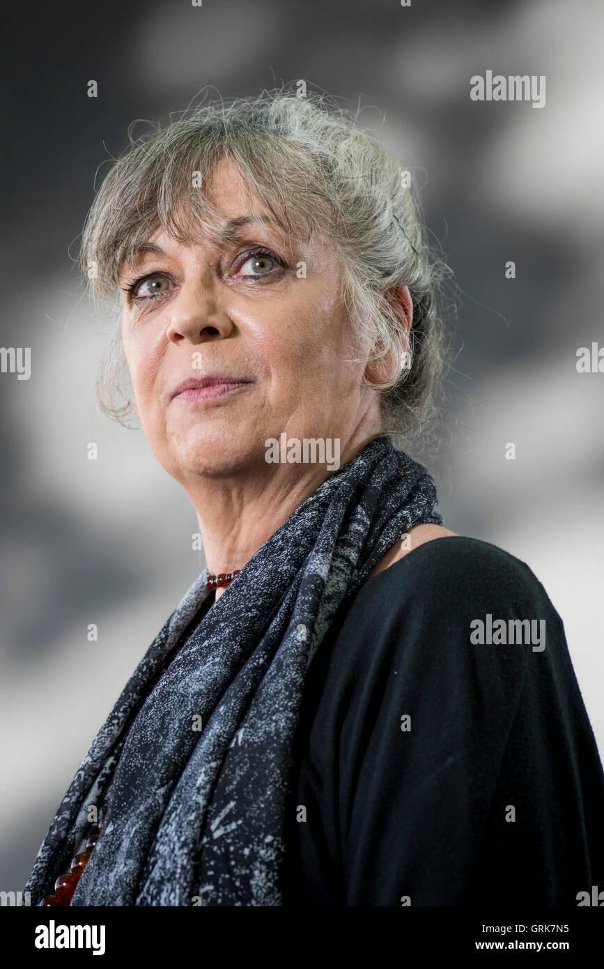 Writer and presenter Sue Palmer. - Stock Image