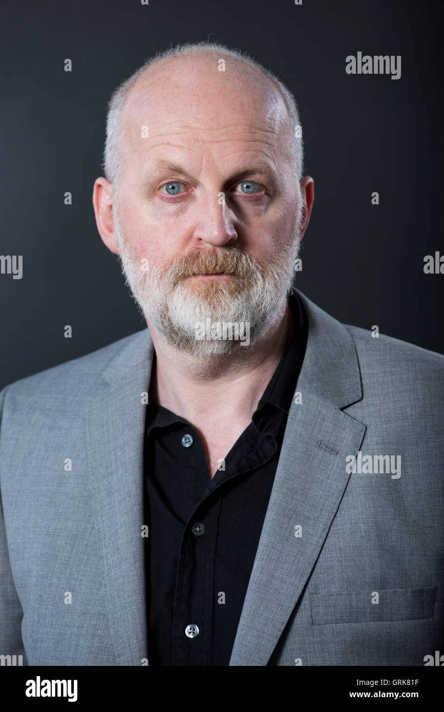 Scottish poet, writer and musician Don Paterson OBE, FRSL. - Stock Image