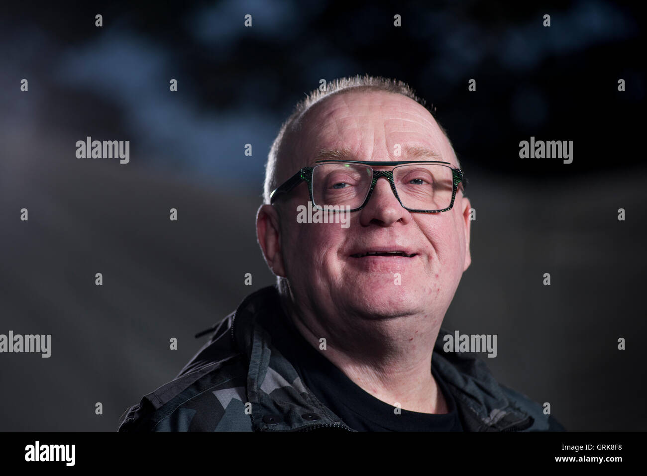 Scottish journalist, broadcaster and television executive Stuart Cosgrove. - Stock Image
