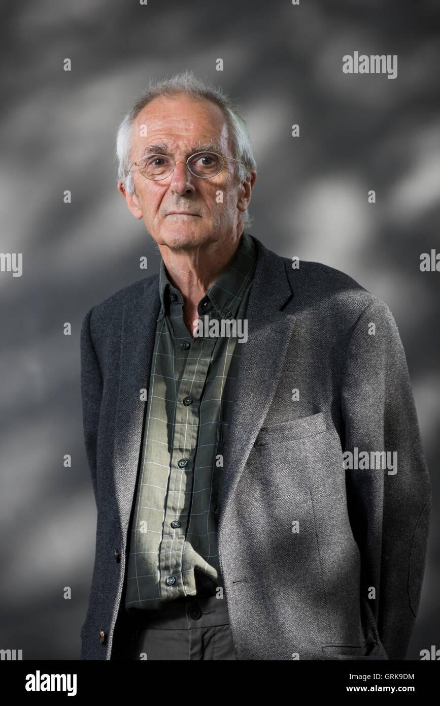 Welsh geneticist Steve Jones. - Stock Image
