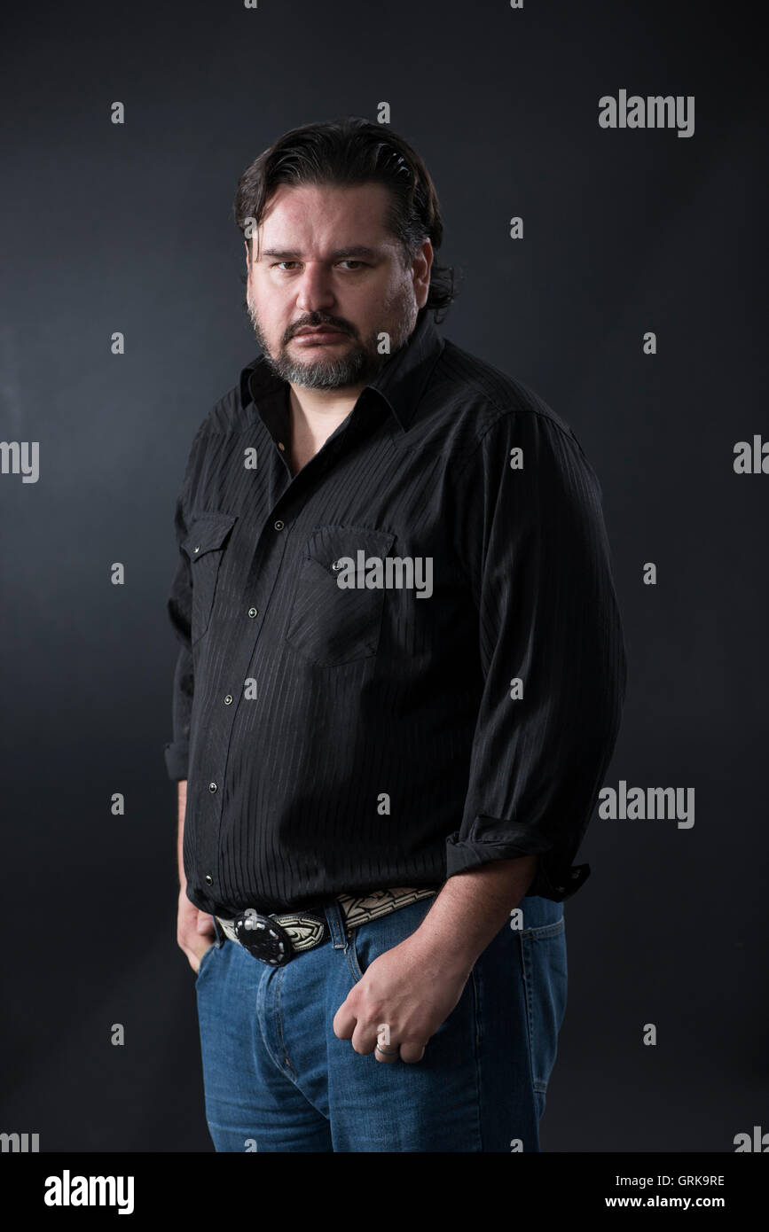 Mexican Journalist and writer Diego Enrique Osorno. - Stock Image