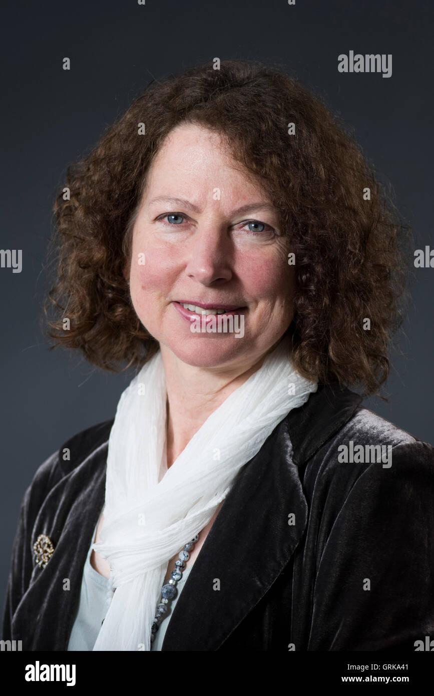 Award-winning writer and critic Claire Harman. - Stock Image