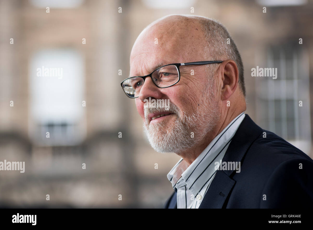 Mexican-British poet, author, scholar and publisher Michael Schmidt OBE FRSL. - Stock Image