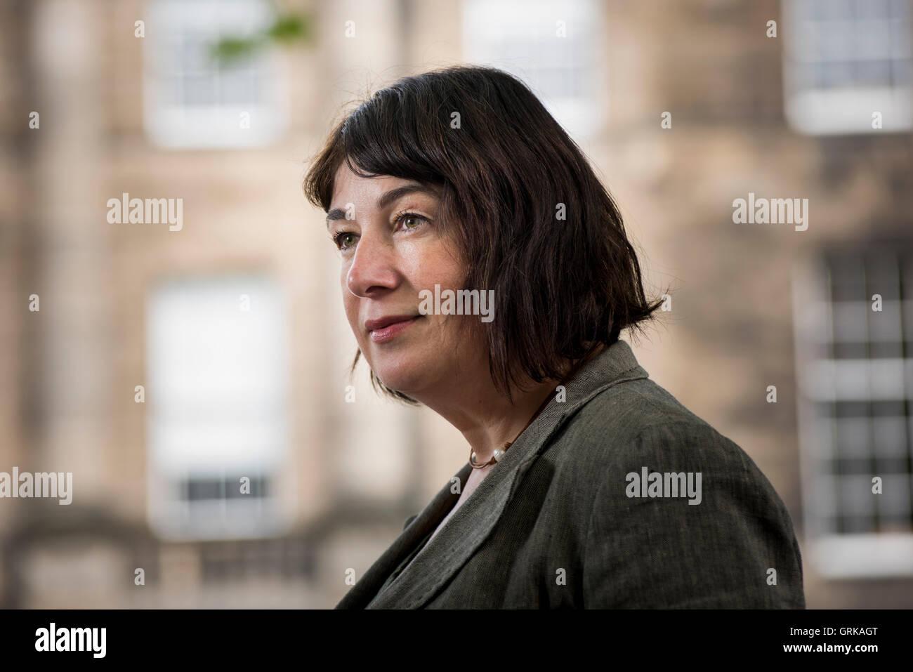 English author Joanne Harris MBE. Stock Photo