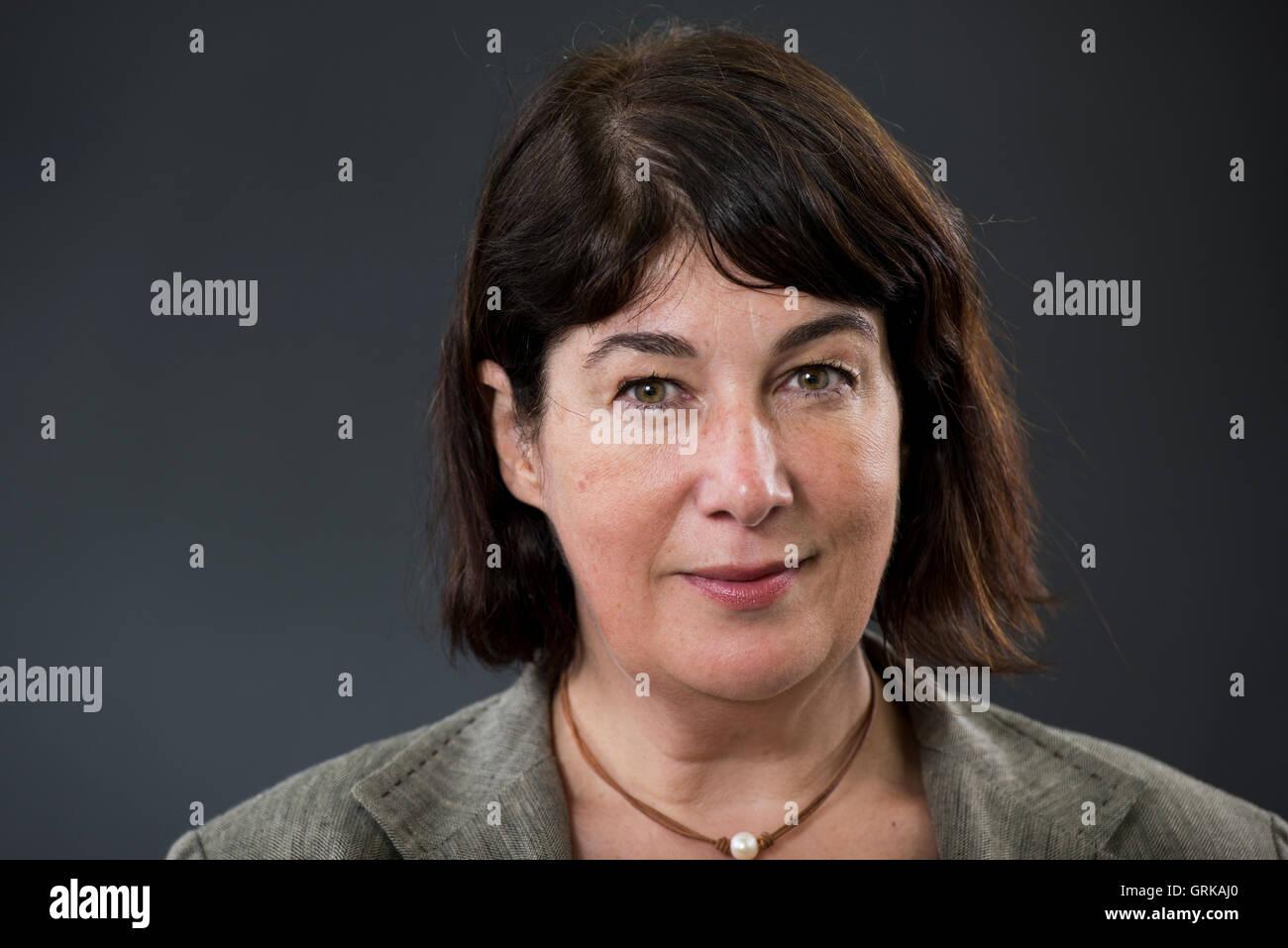 English author Joanne Harris MBE. - Stock Image