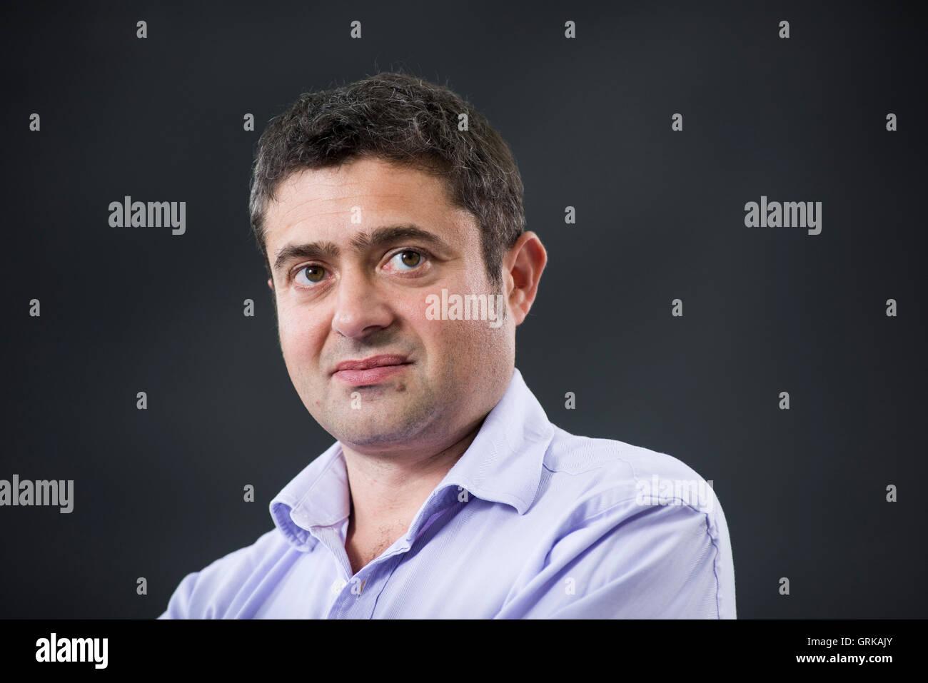 Author Tom Blass. - Stock Image