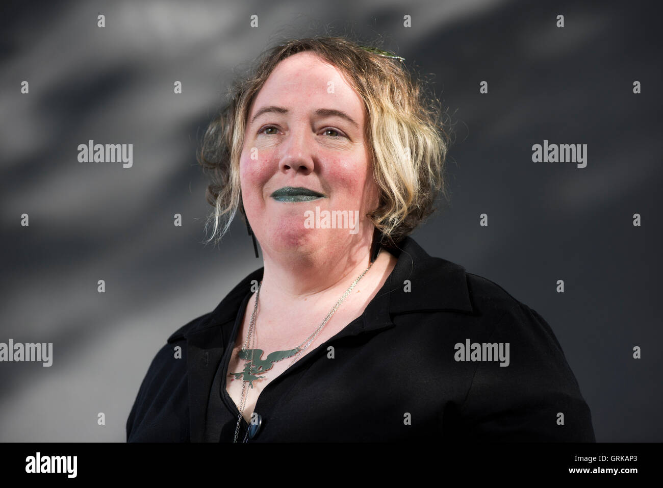 American editor and author of short stories Kelly Link. - Stock Image