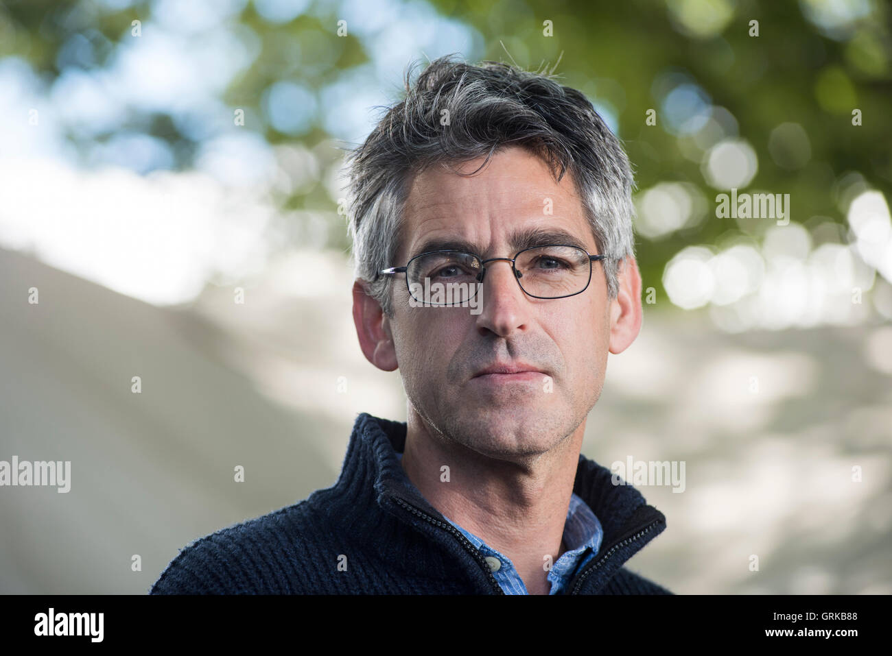 British writer Dan Boothby. - Stock Image