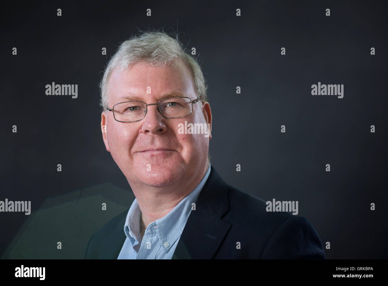 English academic at the University of Wolverhampton and a military historian Gary Sheffield. - Stock Image