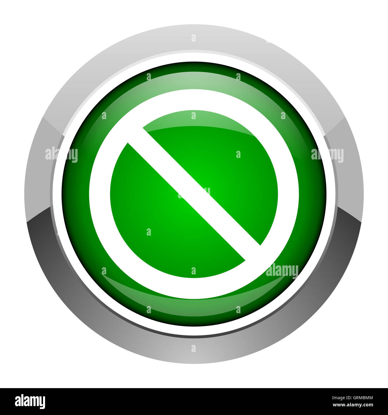 access denied icon - Stock Image