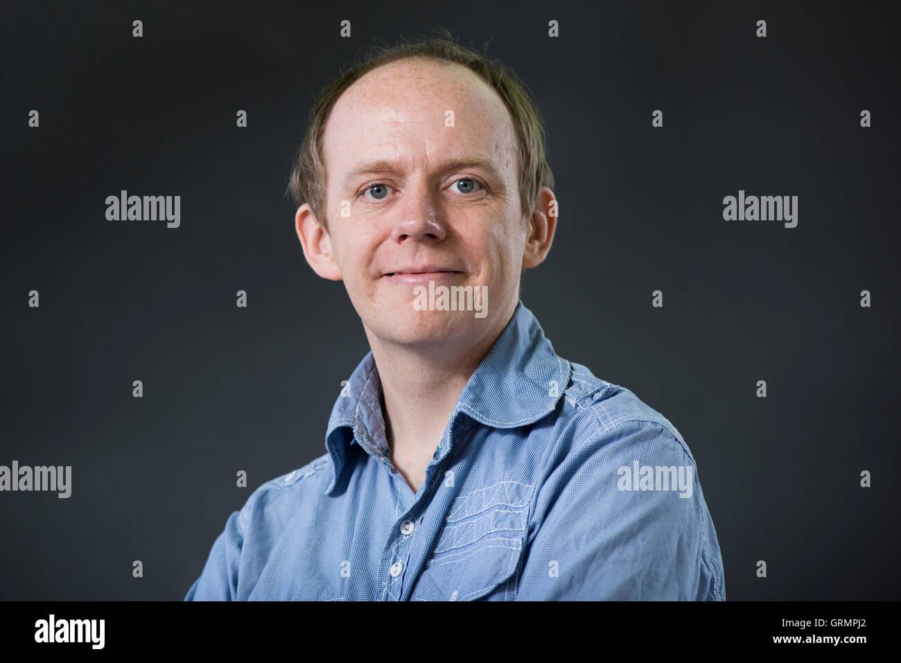Scots Language specialist Thomas Clark. - Stock Image
