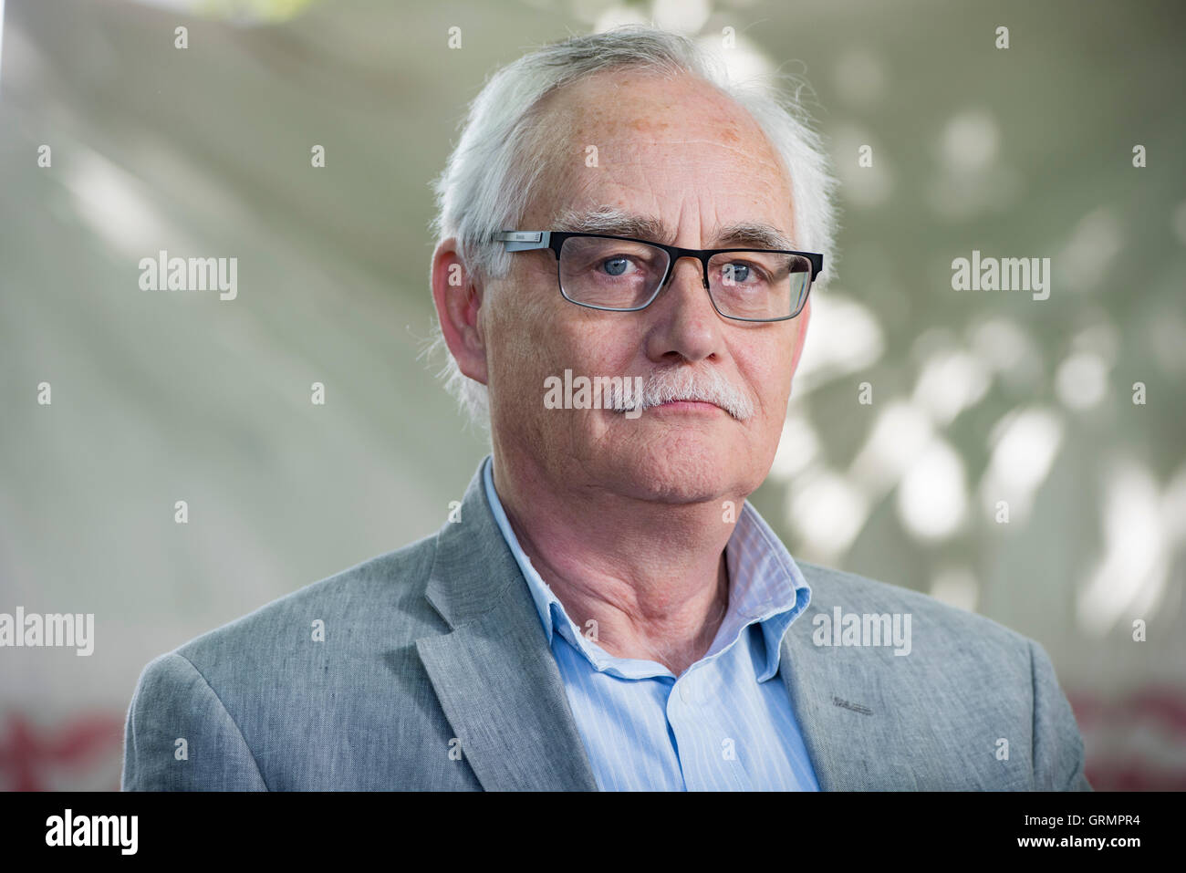 Professor at the University of St. Andrews, Roger Mason. - Stock Image