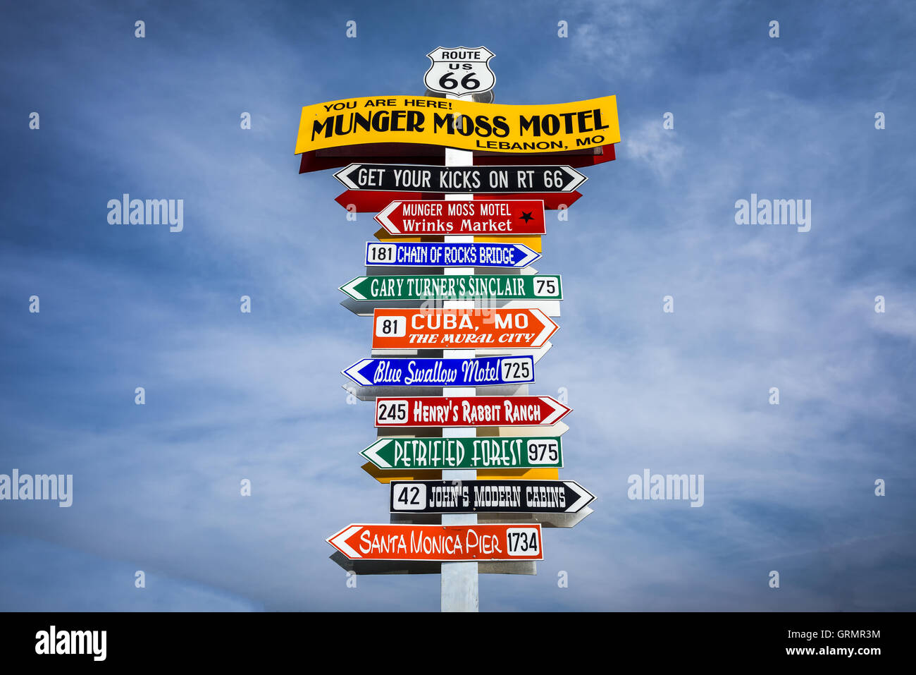 Route 66 Attractions Stock Photos & Route 66 Attractions Stock ...