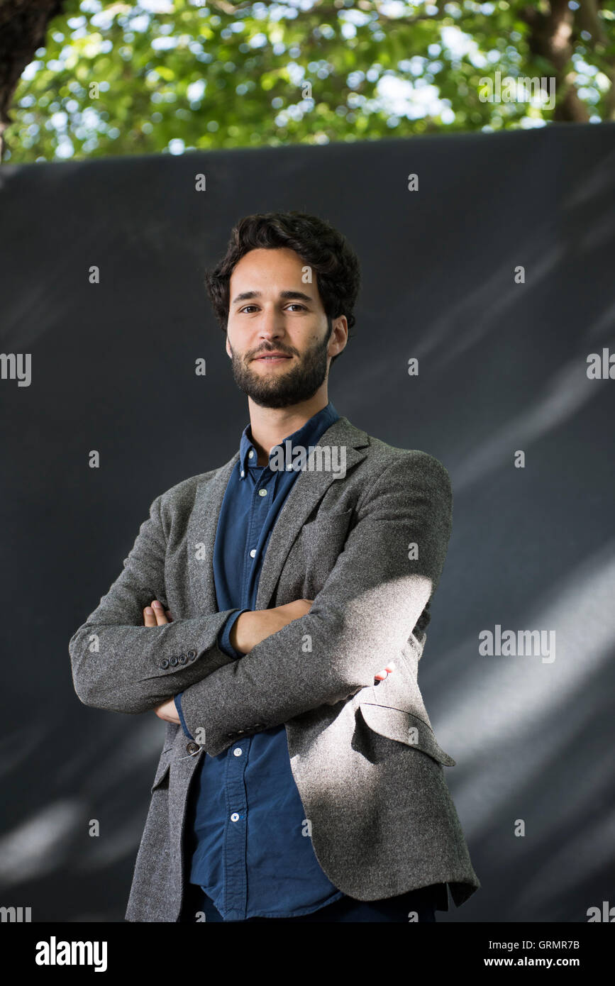 Economist, lecturer at Balliol College, Oxford and author Daniel Susskind. - Stock Image