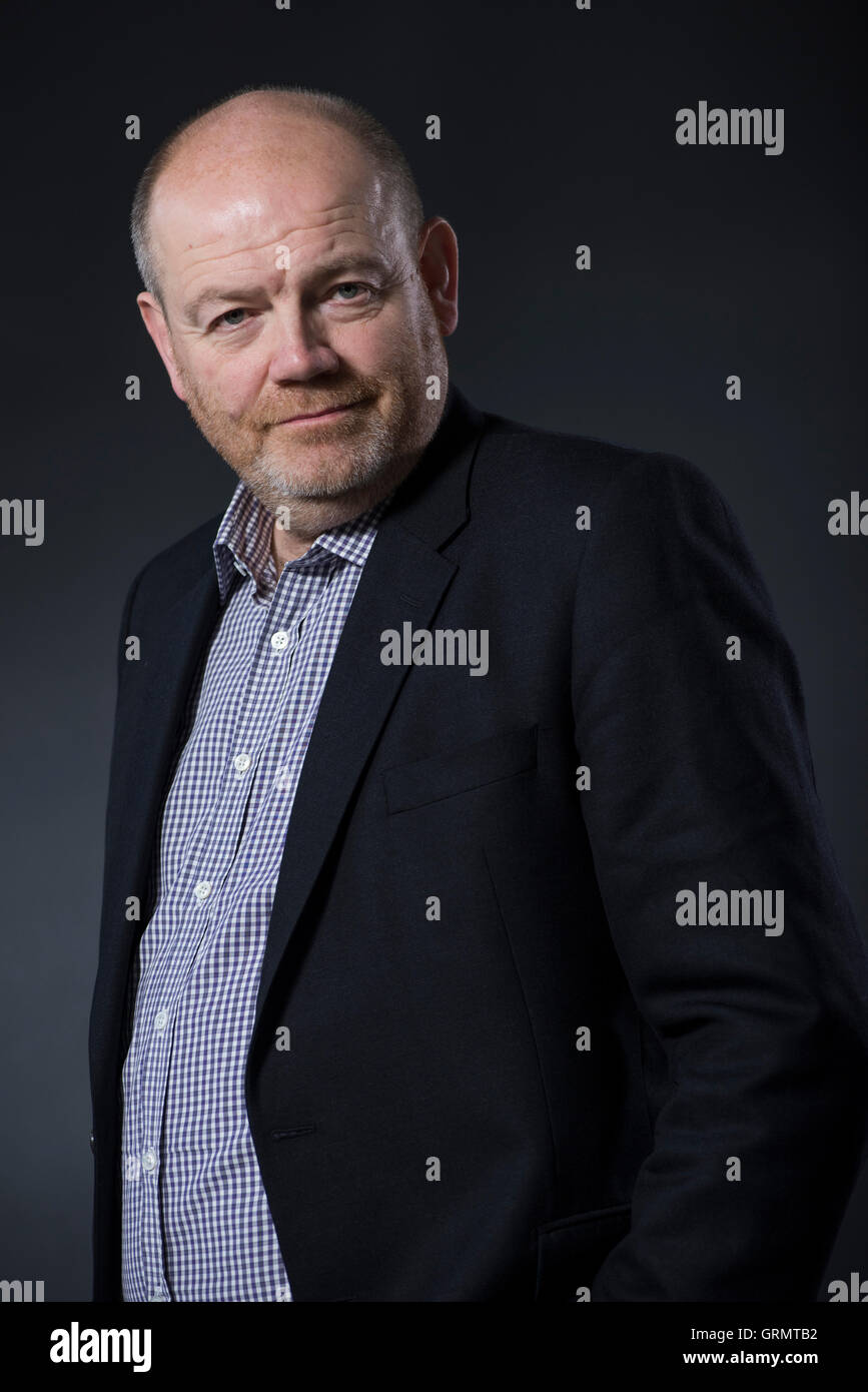 Chief Executive Officer of The New York Times Company Mark Thompson. - Stock Image