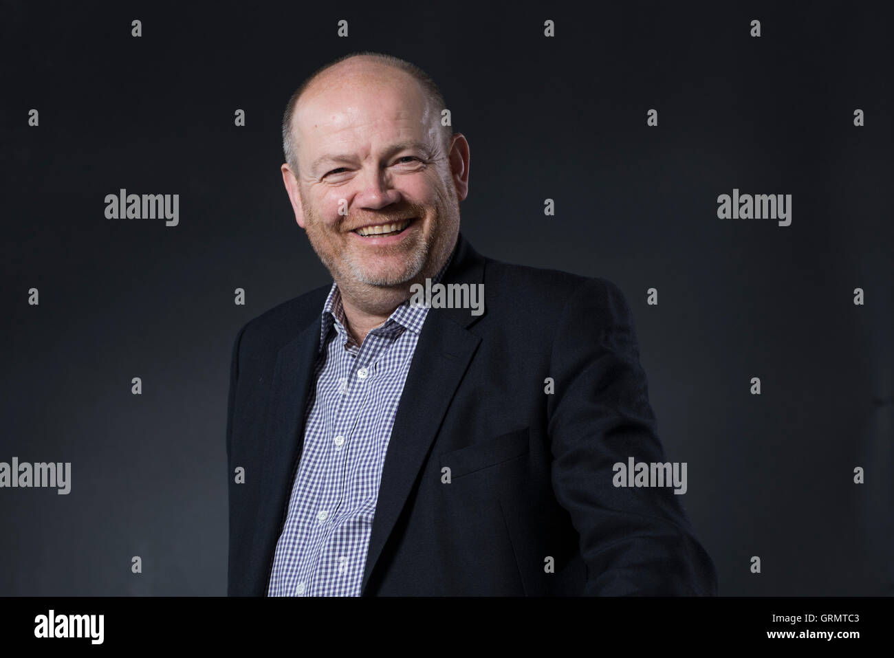 Chief Executive Officer of The New York Times Company Mark Thompson. Stock Photo
