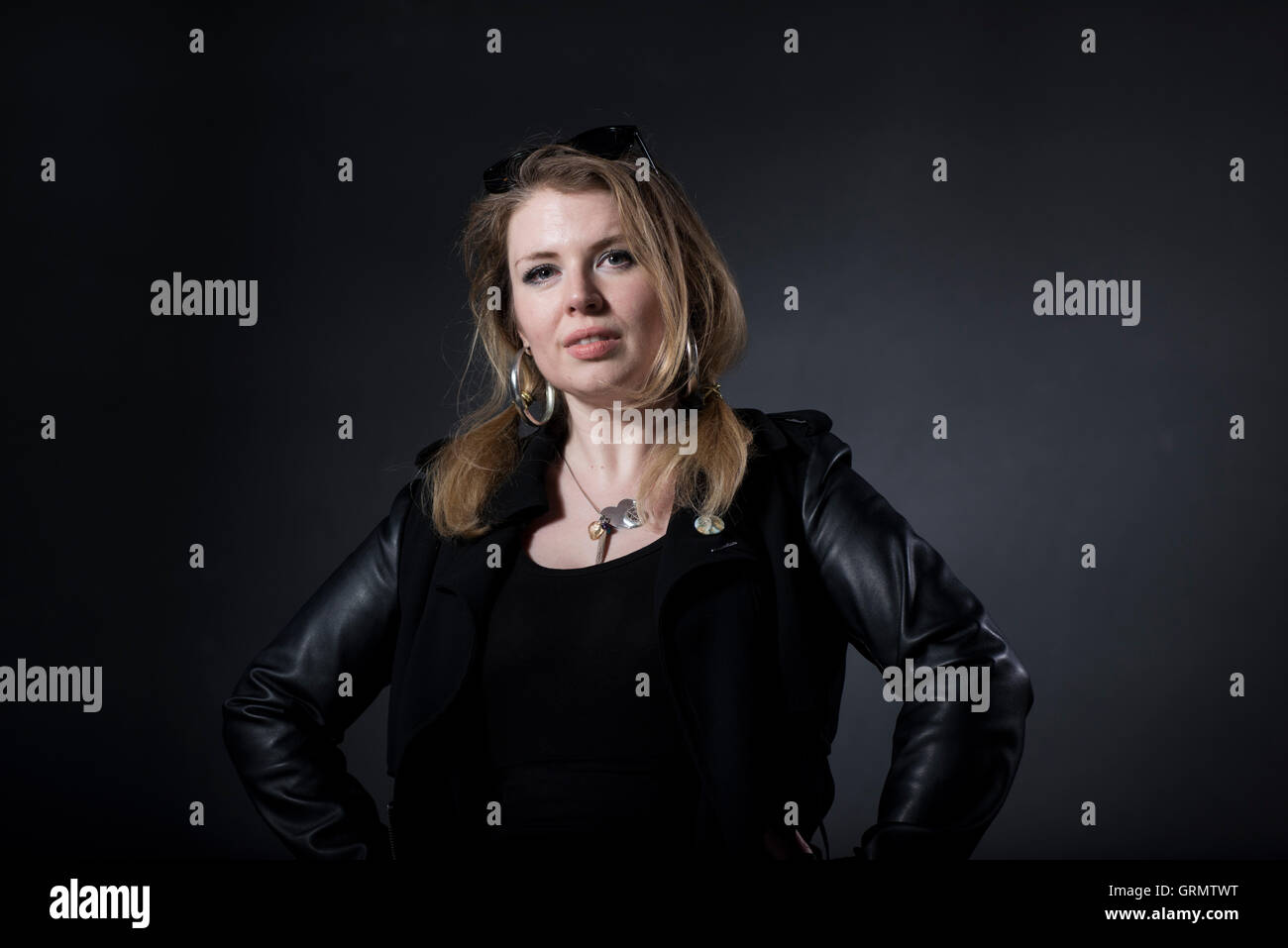 Music writer Zoe Howe. - Stock Image