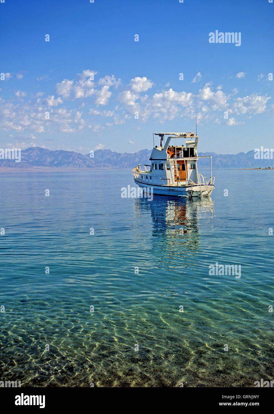 Beach, Nuweiba, Sinai, Egypt Stock Photo