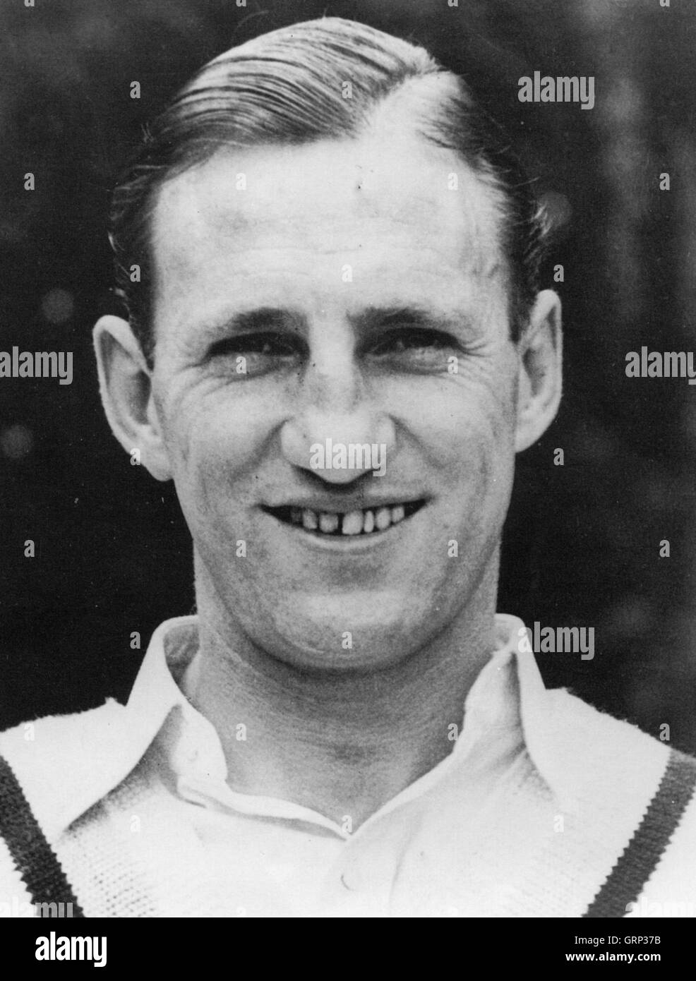 LEN HUTTON (1916-1990) English cricketer about 1938 - Stock Image